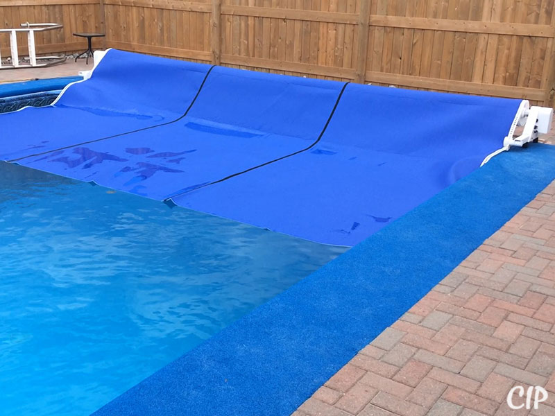 Automatic Pool Cover winding up USA