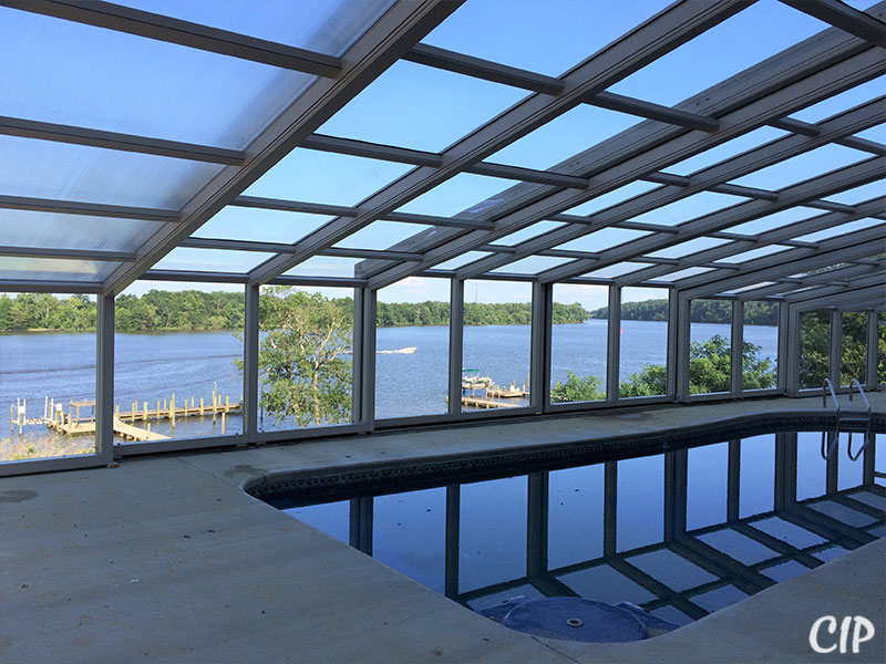 Swimming Pool Enclosure Lets You Enjoy Swimming Pool